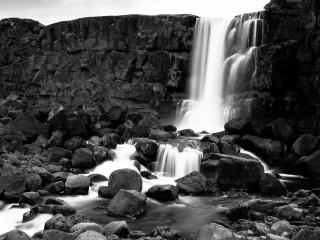 Pingvellir Waterfall, Iceland